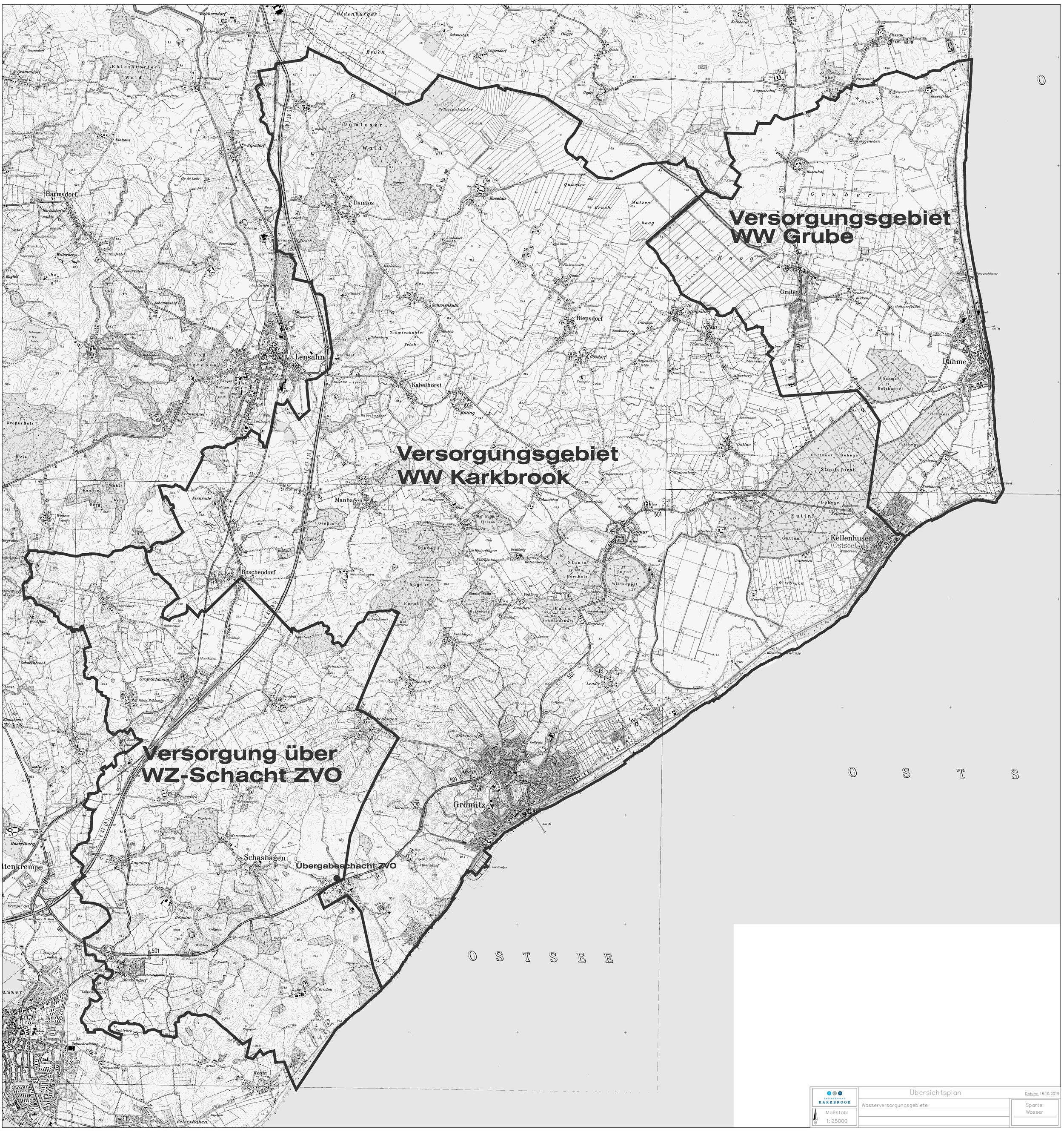 Wasserversorgung Zweckverband Karkbrook